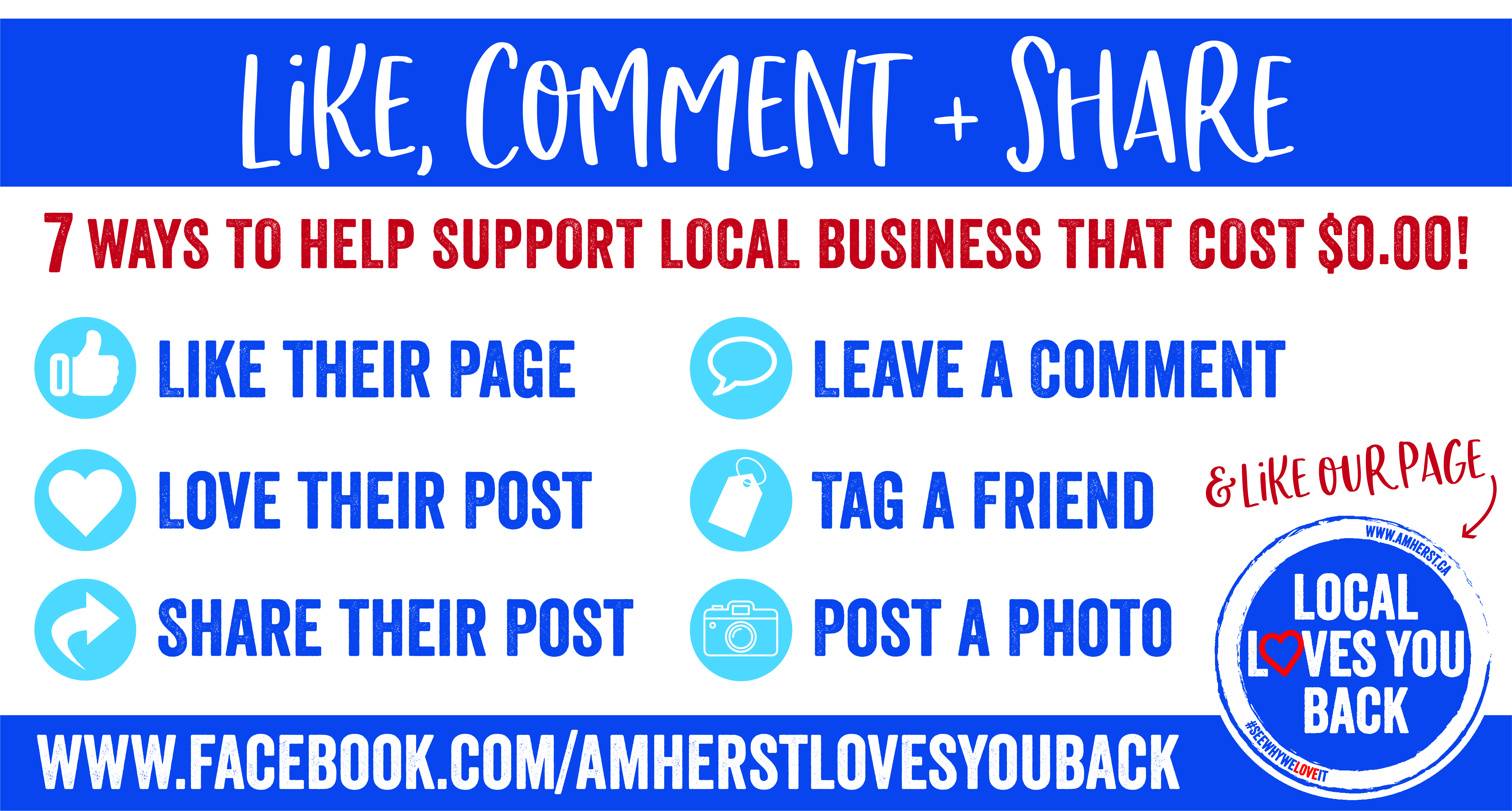 6 ways to support local