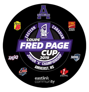 Fred page hockey puck C