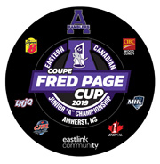 Fred page hockey puck D